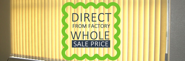 Direct from factory whole sale price