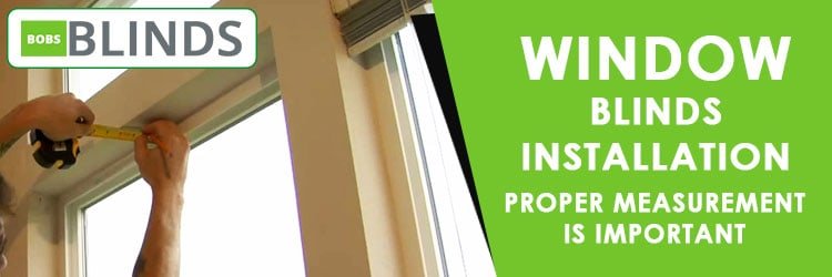 Window Blinds Installation