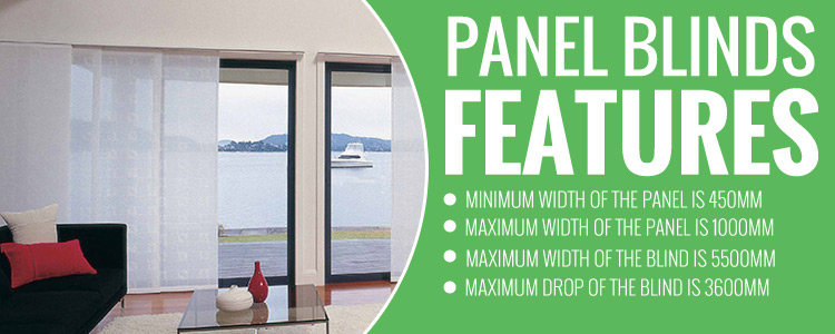 Affordable Panel Blinds Emerald