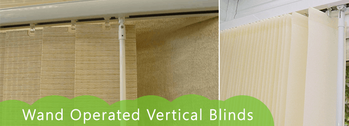 Wand Operated Vertical Blinds