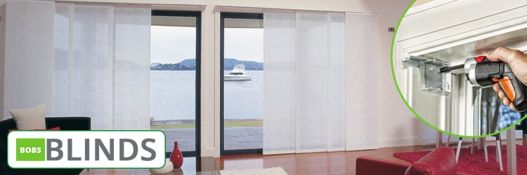 Panel Blinds Installation