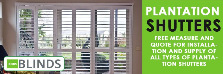 Plantation Shutters Black Hill