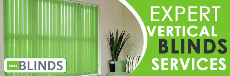 Vertical Blinds Bunkers Hill