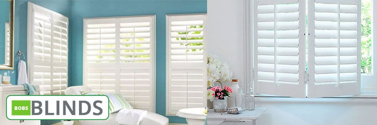 White Basswood Shutters Springmount